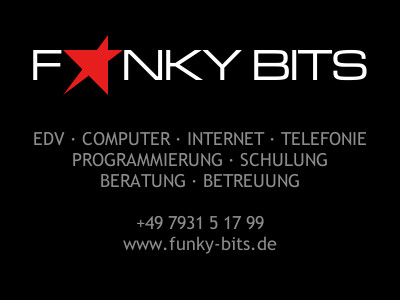 Fulda - EDV Computer Webdesign Software Hardware Beratung Programmierung Alternativen Homepage WebSite Funky Bits